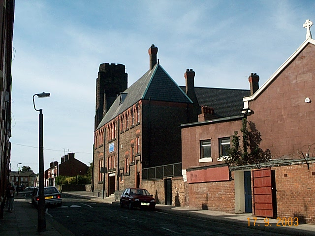 St Francis of Assisi School and Church Earp St Garston Liverpool Septemb 2003 010